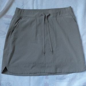 RBX sporty mini skirt, tan color stretchy